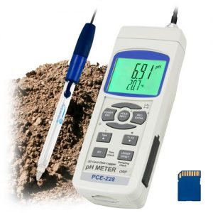 PCE-228SLUR PH Meter for Mud/Soil