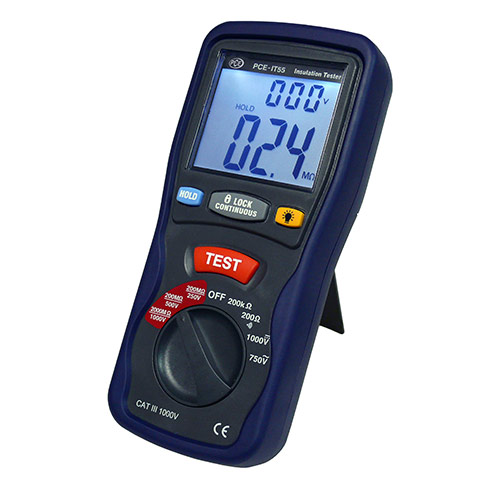 PCE IT55 Insulation tester