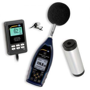 PCE-NDL-LEQ-KIT Datalogging Sound Meter with Calibrator Kit
