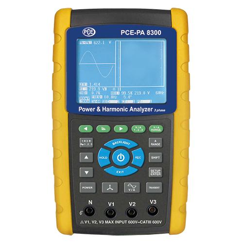 PCE-PA 8300 Power Analyzer