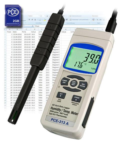 PCE-313 S Temperature Humidity meter